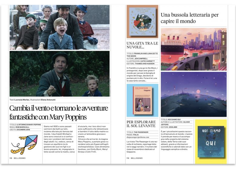 cinema, libri, riviste, kids lifestyle magazine, scimparello