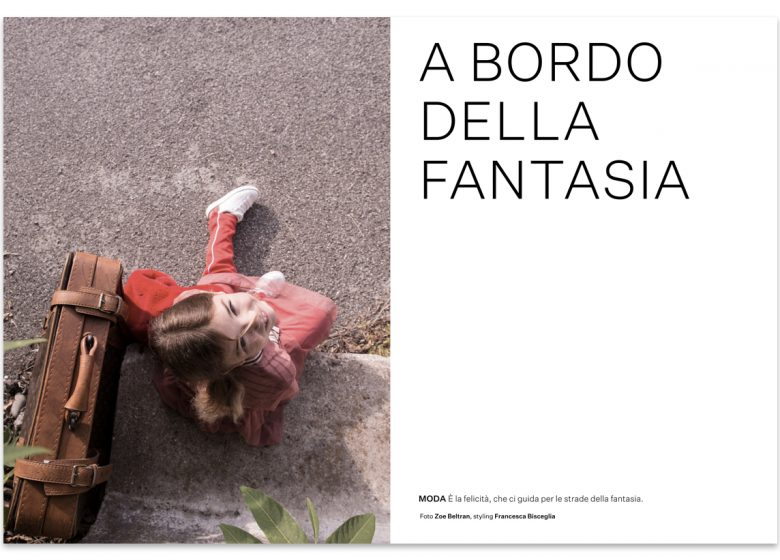 kids fashion editorial per Scimparello Magazine