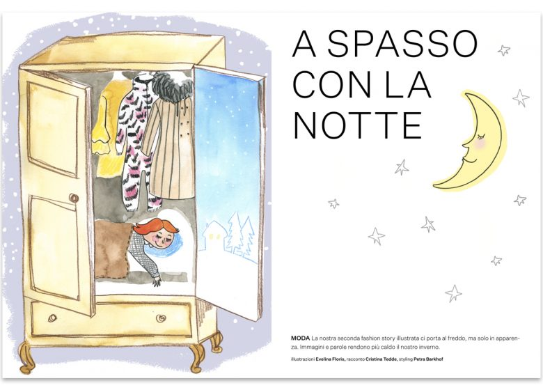 Illustrazioni - kids fashion editorial