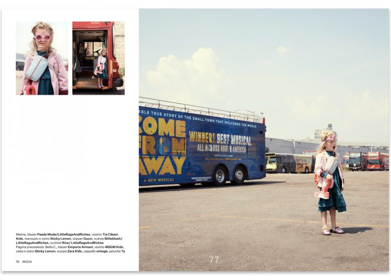 urban traveller - kids fashion editorial