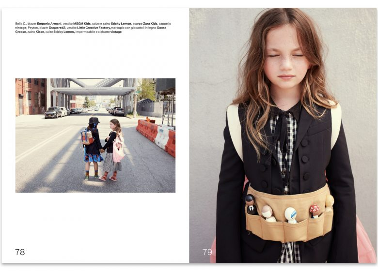 kids fashion editorial - Brooklyn - urban traveller